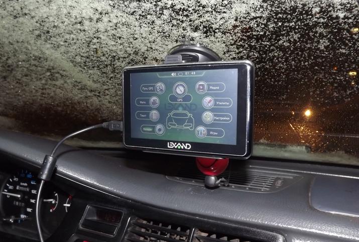 Навигация с Lexand Sr-5550 HD обзор