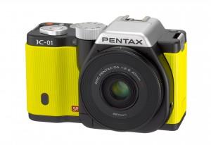 Камера с ярким дизайном Pentax K-01 обзор