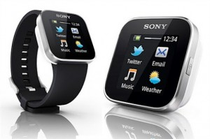 Ультрамодные  часы Sony SmartWatch Android